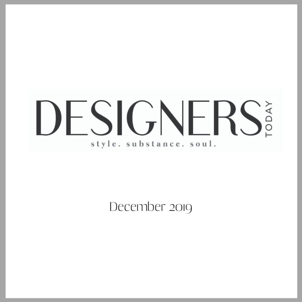 Fayette Studio featured in Designers Today