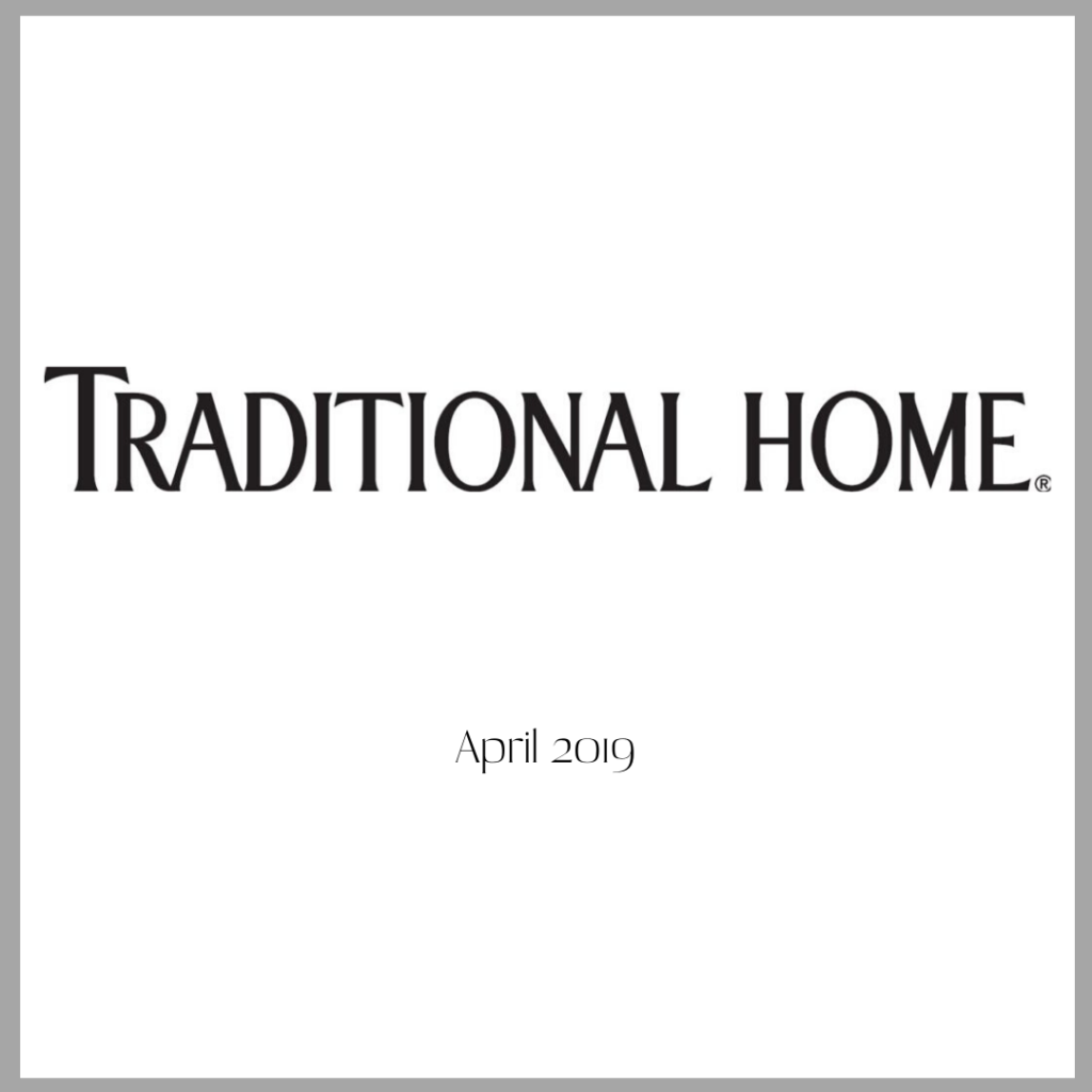 Fayette Studio featured in Traditional Home