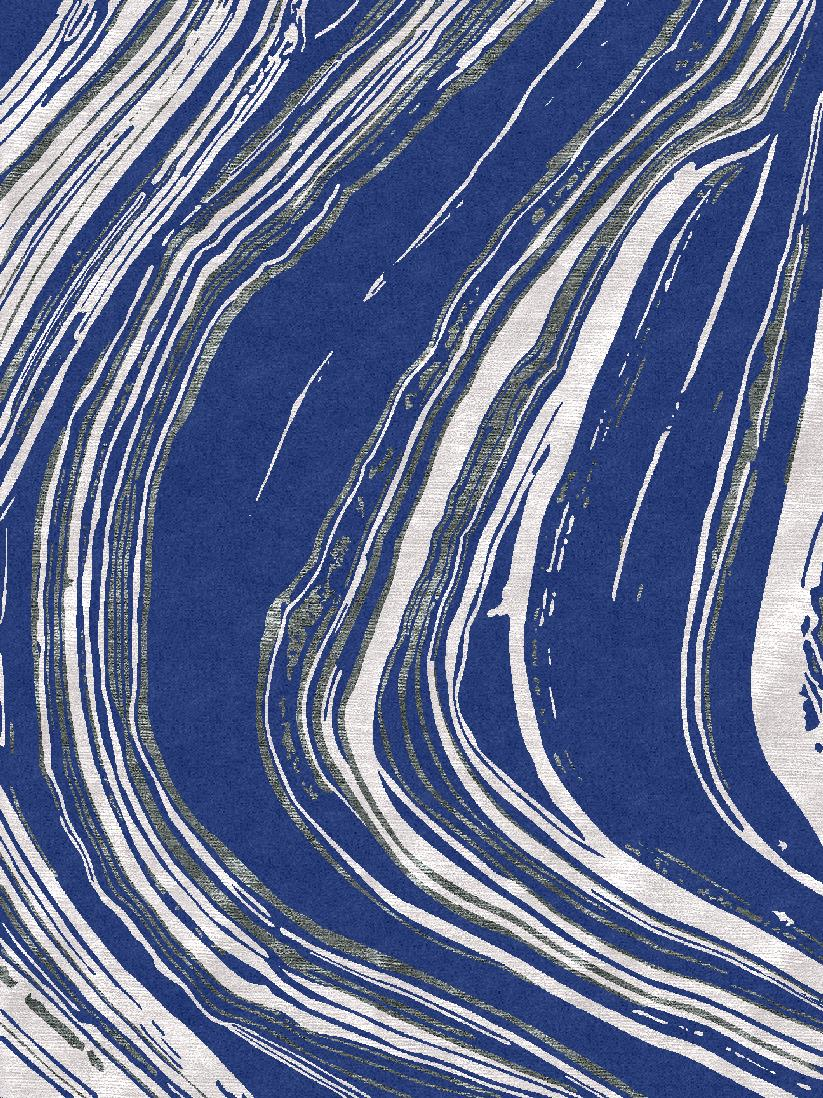 Whirlwind- Blue and White