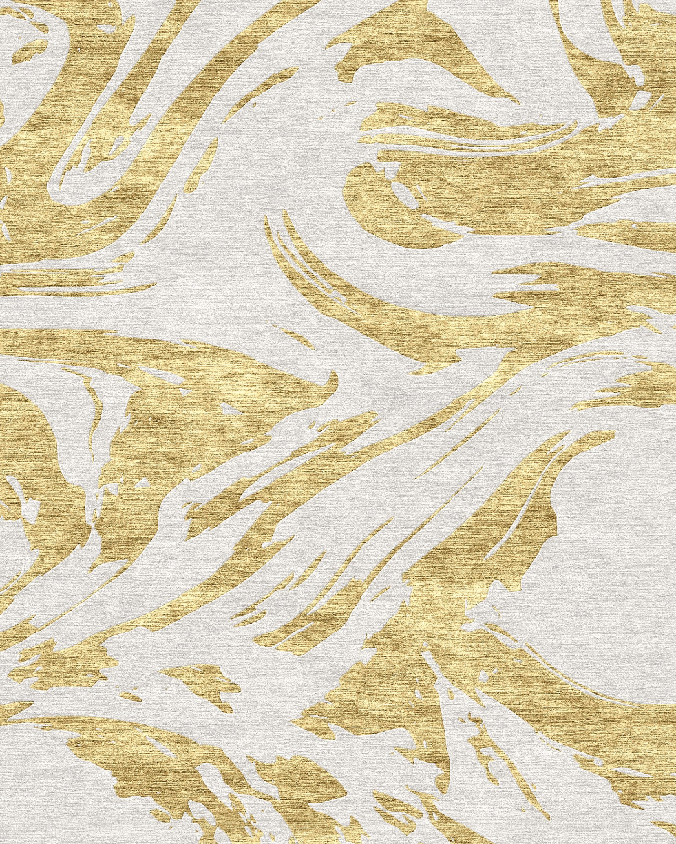 Marbled- Gold